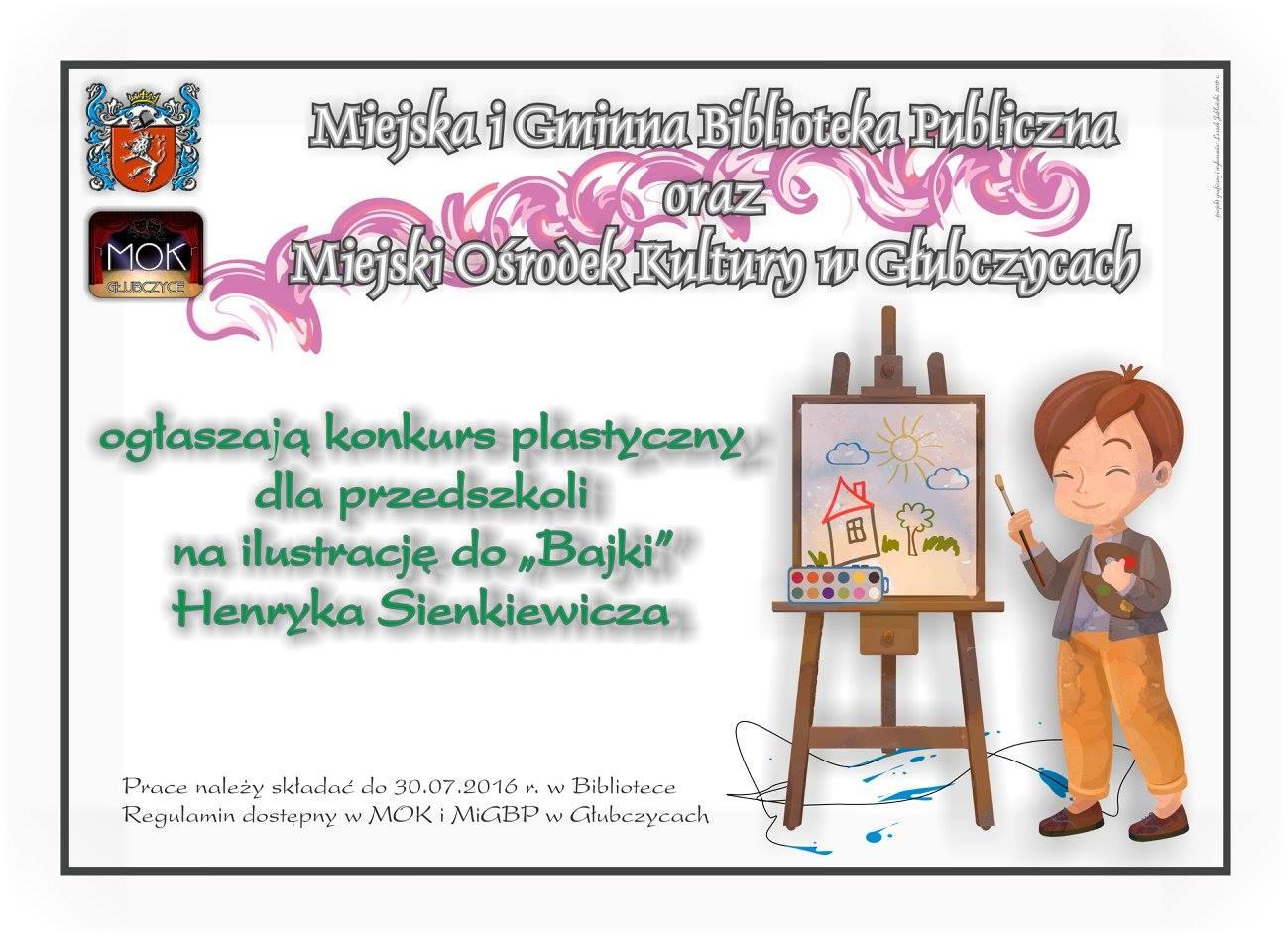 Sienkiewicz - do 10 czerwca - konkurs plastyczny bajka - plakat