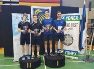 Głubczyccy badmintoniści w Estonii