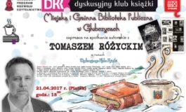 Spotkanie autorskie z Tomaszem Różyckim