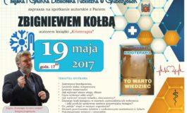 Spotkanie autorskie ze Zbigniewem Kołbą
