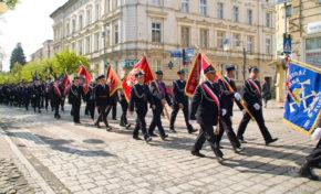 Powiatowe obchody Dnia Strażaka w Głubczycach