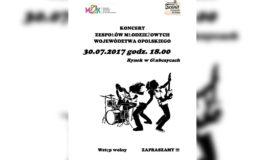 Koncert zespołów młodzieżowych [Plenerowa Scena GDK]