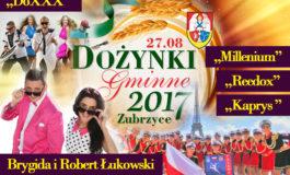 Dożynki Gminne Zubrzyce 2017