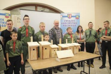 100 budek lęgowych na 100-lecie niepodległości